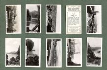Collctable Tobacco cigarette cards photographic set New Zealand 1929